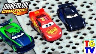 Disney Pixar Cars Daredevil Garage The Playground