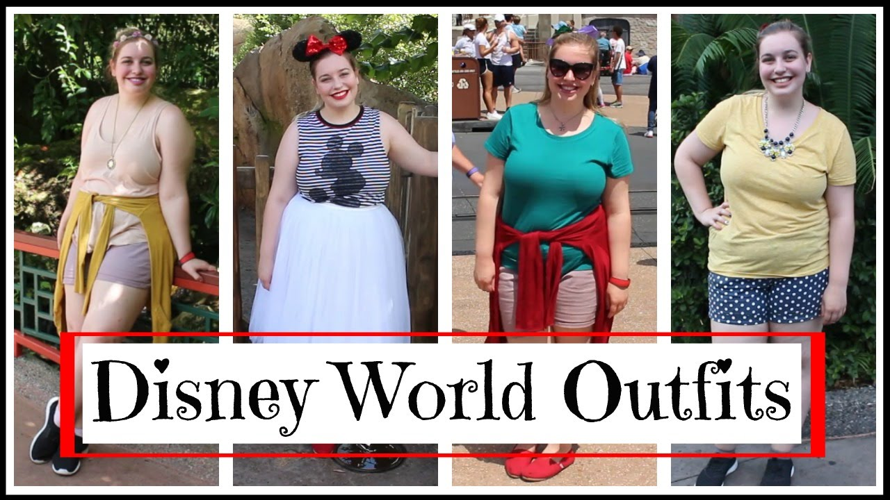 Disney World Outfits | Disney Bound Lookbook!! - YouTube