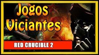 UM DOS JOGOS MAIS VICIANTES DA INTERNET RED CRUCIBLE 2