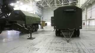 РЛС для систем ПВО 80К6 + электростанция ЕД60-М