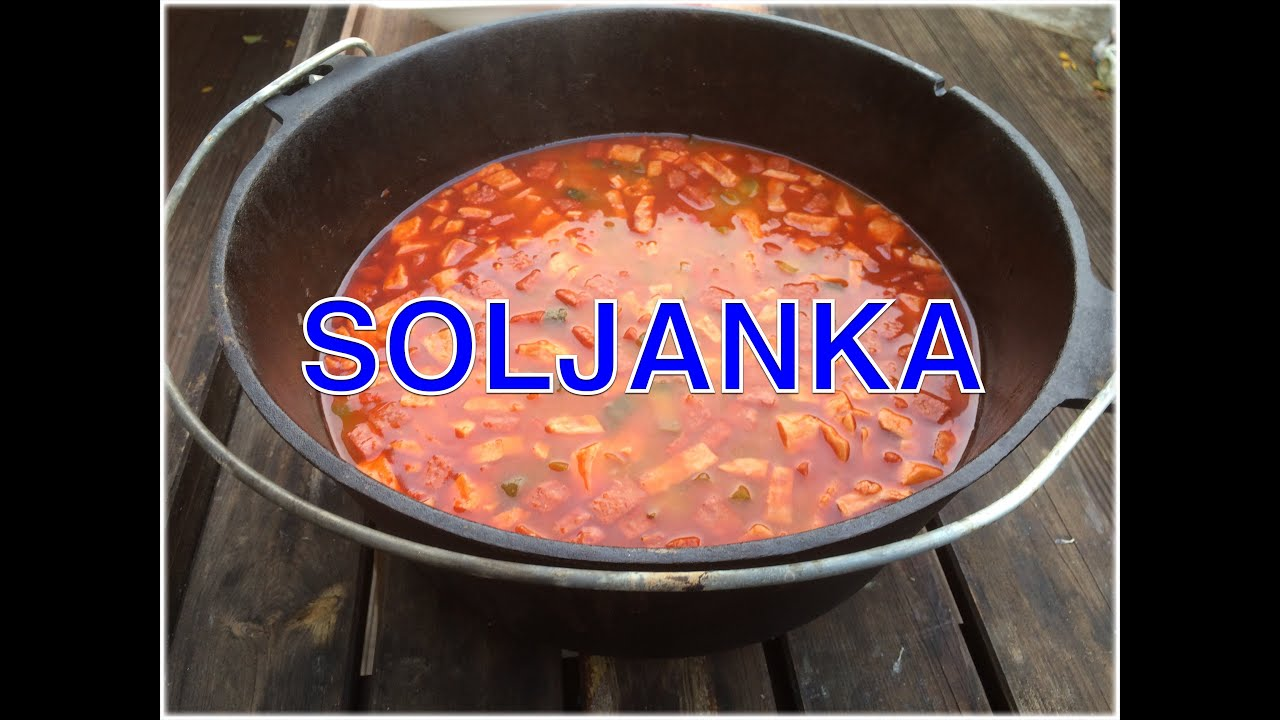 Ukrainische Soljanka aus dem Dutch Oven --- Klaus grillt ...