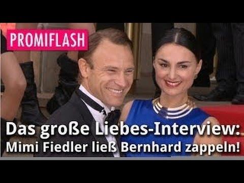Liebes Interview So Ließ Mimi Fiedler Iaf Bernhard Zappeln Youtube