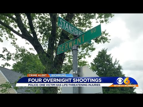 4 Wounded In Spate Of Richmond Shootings