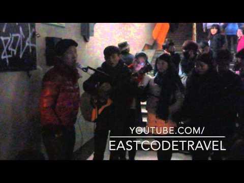 street singer and Cantonnese song  Changsha  Hunan