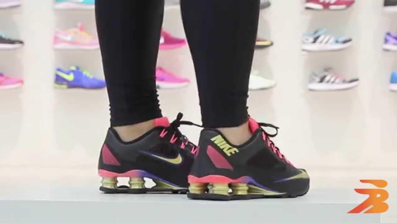 Tenis Nike Shox R4 Preto E Vermelho