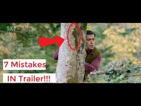 Tubelight | Official Trailer Mistakes | Salman Khan | Sohail khan | Movie Mistakes