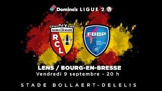 Lens - Bourg en Bresse, J-1...