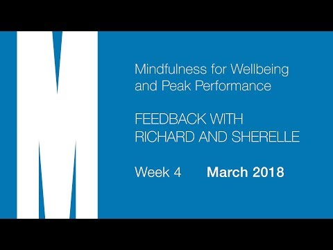 Feedback from Richard and Sherelle - Week 4 - Mar 2018
