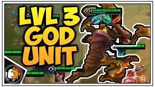 Teamfight Tactics: Level 3 Cho'gath Is A UNIT