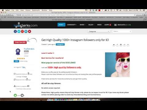 Get 1000's of Instagram Followers for $1-$3