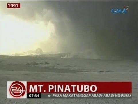 24 Oras: Pagsabog ng Mt. Pinatubo, malaki ang naging epekto sa kabuhayan at kalikasan