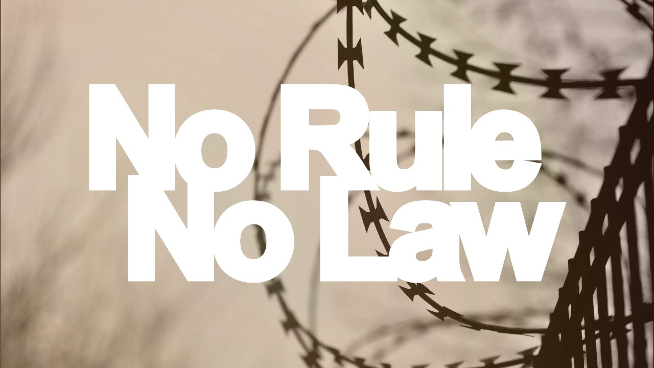 what would happen if we had no laws