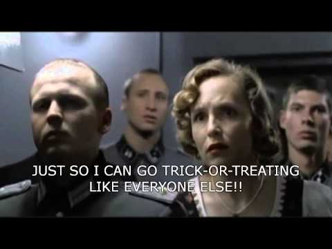 Hitler reacts to Halloween