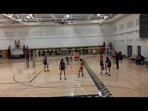 Jade Bussard: Notre Dame vs Aberhart Set 1 of 2