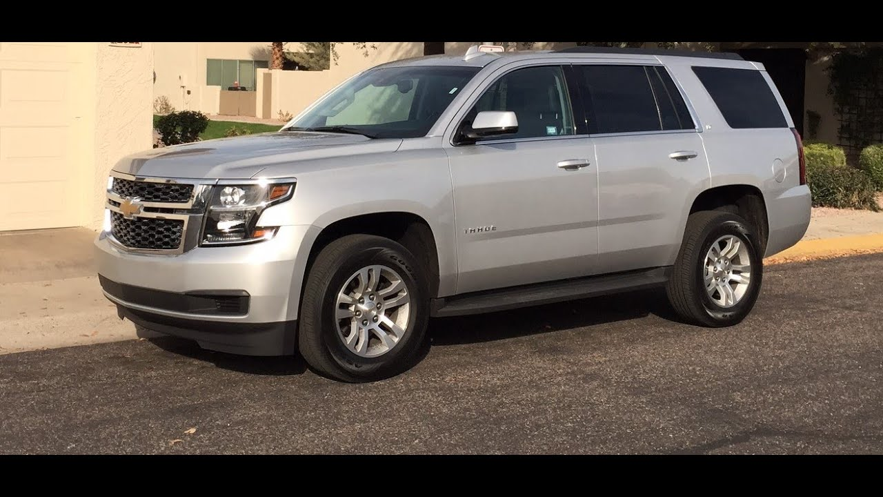 Tahoe 2015 chevrolet tahoe lt : 2015 Chevrolet Tahoe LT Full Size SUV Review - YouTube