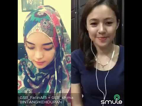 BINTANG KEHIDUPAN Cover by SHIMA feat FATIN... THE BEST SINGER OF SMULE...!!!