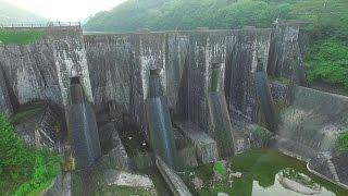 日本最古の石積ダム DJI Phantom3 豊稔池ダム