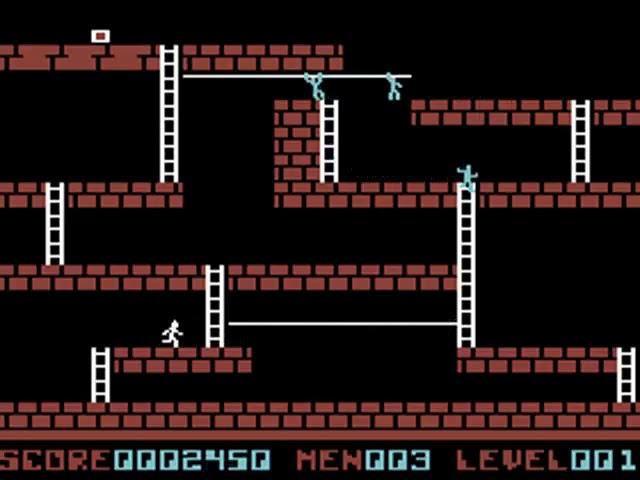 Jouez à Lode Runner sur Commodore 64 grâce à nos bartops et consoles retrogaming