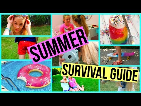 SUMMER SURVIVAL GUIDE: What To Do, Essentials + Hair And Outfits
