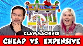 Cheap VS Expensive claw machines - What's worth it?