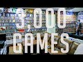 MASSIVE GAME ROOM TOUR - 3000 GAMES - BOXED N64 collection