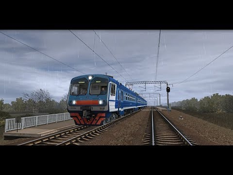 Trainz12 | Таловая - Лиски на ЭД9М-0148