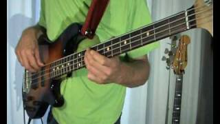 The Monkees - Last Train To Clarksville -- Bass Cover