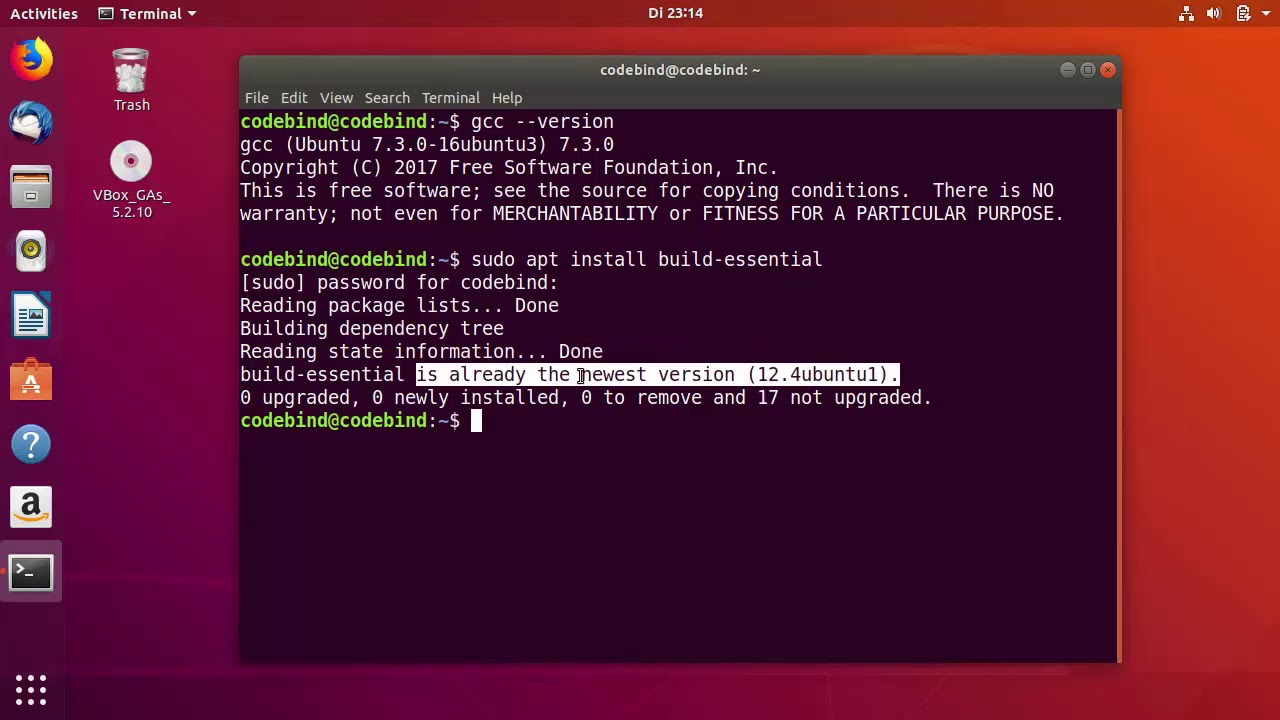 How to Compile and Run C program Using GCC on Ubuntu 18 04 LTS (Linux)