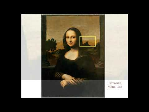 3103【04重】【Part 2】Tree like Object of Mars in Mona Lisa モナリザの絵の中には火星に生える樹木が写真のように描かれていたby Hiroshi Hay
