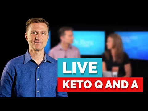 Dr. Berg Live Q&A, Thursday (November 7) on the Ketogenic Diet and Intermittent Fasting