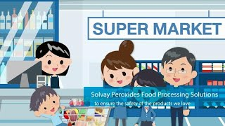 Solvay peroxides food processing solutions