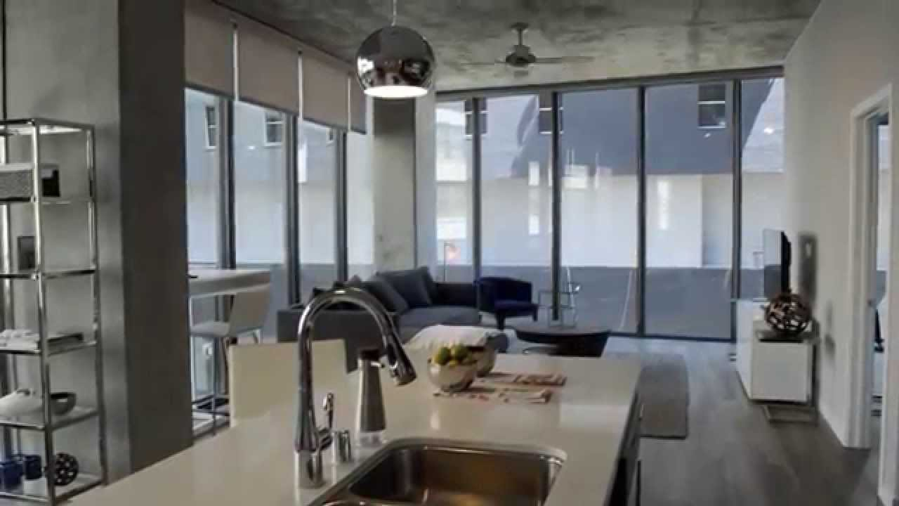 High Rise Apartment Inside 8th and hope apartments tour! downtown la's luxury high-rise