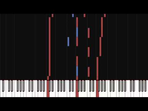 Evanescence - Eternal tutorial on the piano