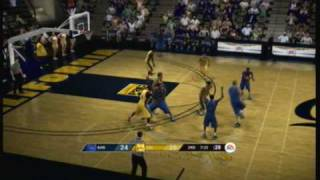 NCAA Basketball 09 (Xbox 360) Kansas vs. Cal (online game)