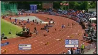 800m - European Team Championships 2010 Bergen