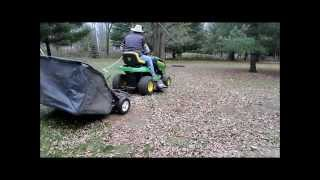 Brinly Tow Behind Lawn Sweeper Review