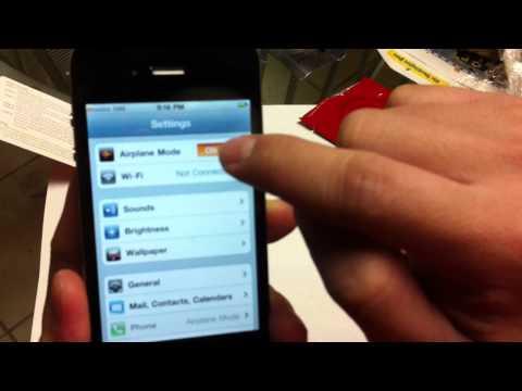 Huong dan unlock iphone 4 bang gevey sim cho 2 ba chi