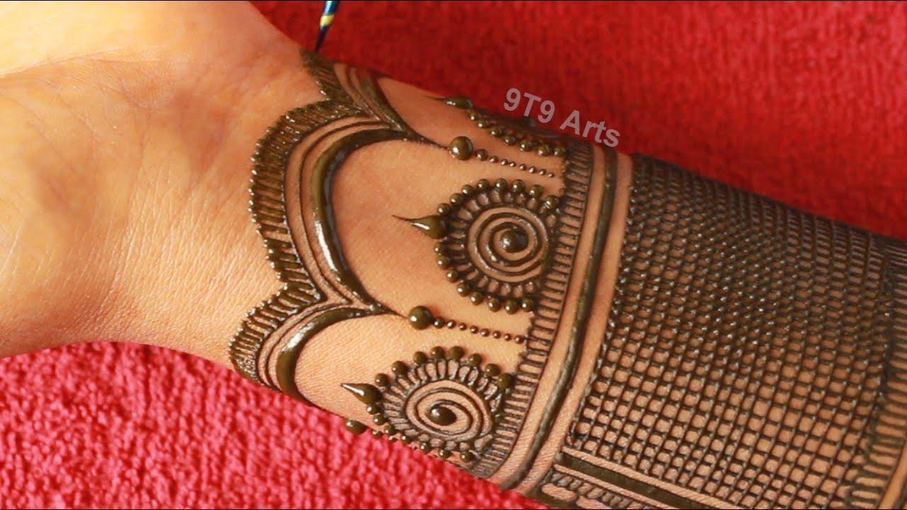 Teej 2020 Special Full Hand Mehndi Design  Front Hand Dulhan Mehndi  Bharwa Mehndi Designs for Hands