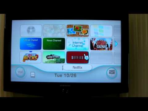 Netflix for Wii No Disc Required
