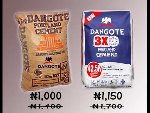 Cement Price Reduction Will Not Kill Competition – Dangote PT2