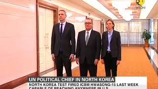UN Political Chief Jeffrey Feltman in North Korea for a four day visit