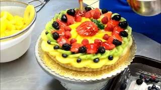 Украшение тортов | Украшение торта фруктами и ягодами