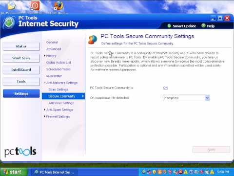 PC Tools Internet Security 2009 (version 6) review part 2