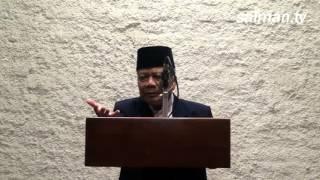 Ketua Persis KH. Aceng Zakaria Mengisi Ceramah Tarawih di Salman ITB