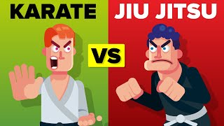 Karate vs Brazilian Jiu Jitsu - Which Martial Arts Is Better?
