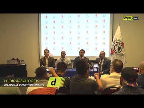 Egidio Arévalo Ríos, El Crack De Uruguay Que Fue Presentado En Municipal