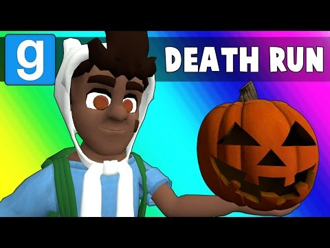 Gmod Deathrun Funny Moments - Halloween Edition! (Garry's Mod)