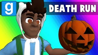 Gmod Deathrun Funny Moments - Halloween Edition! (Garry
