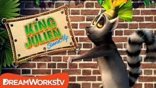 Watch King Julien Whip and Nae Nae | KING JULIEN STAND UP