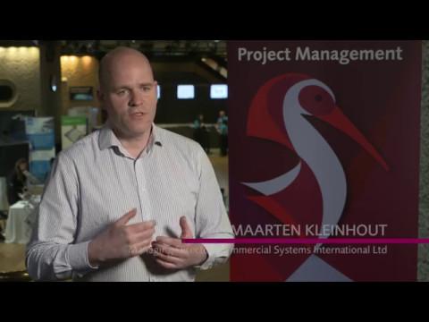 Speaker: Maarten Kleinhout - APM Project Management Conference 2017